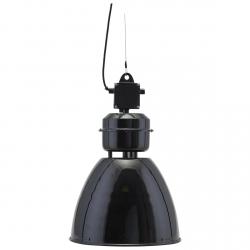 House Doctor VOLUMEN Lampa Wisząca 35 cm w Industrialnym Stylu - Czarna