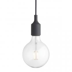 Muuto E27 Lampa Żarówka LED Ciemnoszara
