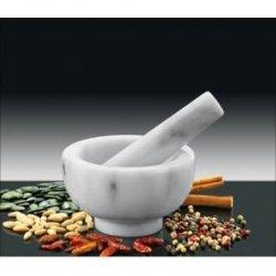 Küchenprofi - Moździerz Biały Marmur 11 cm
