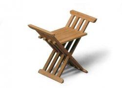 Skagerak ROYAL Krzesło - Stołek Składany - Drewno Tekowe