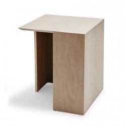 Skagerak BUILDING TABLE Stolik Dębowy 40 cm Naturalny