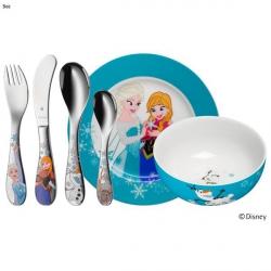 WMF Zestaw dla Dzieci - Sztućce + Porcelana 6 El. - FROZEN