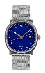 Alessi TIC15 Zegarek Męski - Chronograf, Stalowa Bransoleta - Niebieski