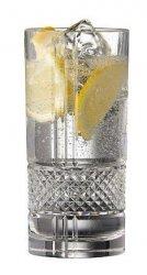 Lyngby Glass BRILLANTE Kryształowe Szklanki Long Drink - Wysokie 370 ml