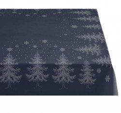 Sodahl CHRISTMAS WINTERLAND Obrus Świąteczny na Stół 150x180 cm Granatowy