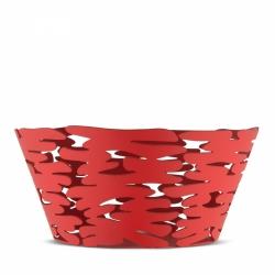 Alessi BARKET Misa - Kosz na Owoce 21 cm Czerwony