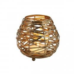 Philippi TAHOMA Świecznik 14 cm Złoty
