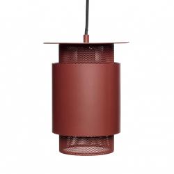 Hübsch NORDIC Lampa Wisząca - Czerwona