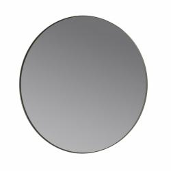 Blomus RIM Okrągłe Lustro Ścienne Szare 80 cm w Metalowej Ramie Steel Gray