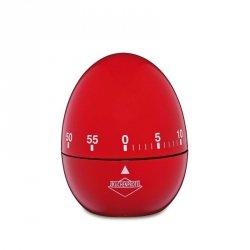 Küchenprofi - Timer - Minutnik w Kształcie Jajka - Czerwony