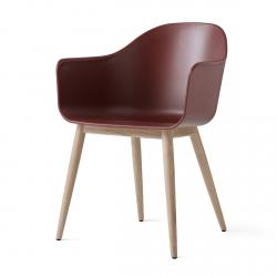 Menu HARBOUR Krzesło - Rama Drewniana/Siedzisko Bordowe