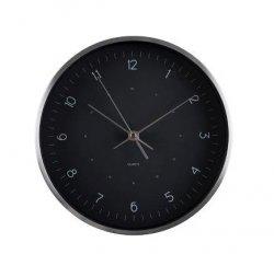 Scandinavia LIVING Zegar Ścienny 25 cm Czarny