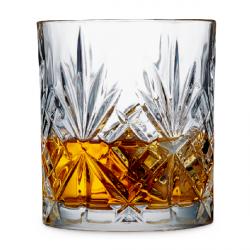 Lyngby Glass MELODIA Kryształowe Szklanki do Whisky, Drinków 310 ml 6 Szt.