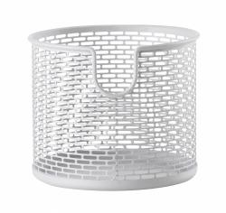 ZONE Denmark BASKET Metalowy Pojemnik - Koszyk do Przechowywania 12 cm Biały