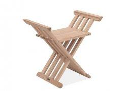 Skagerak ROYAL Krzesło - Stołek Składay - Drewno Dębowe