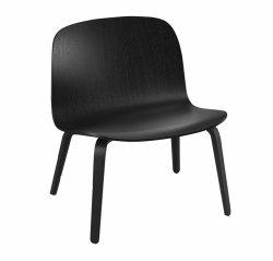 Muuto VISU LOUNGE Fotel - Czarny