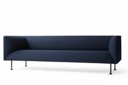 Menu GODOT Sofa 3-Osobowa Granatowa - Royal Blue