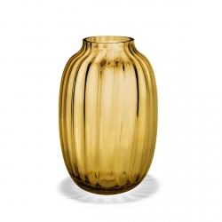 Holmegaard PRIMULA Wazon do Kwiatów 25,5 cm Żółty Amber