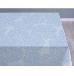 Sodahl MODERN ROSE Obrus na Stół 140x220 cm Jasnoniebieski - Linen Blue