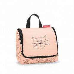 Reisenthel KIDS CATS AND DOG Kosmetyczka dla Dzieci Toiletbag S - Różowa