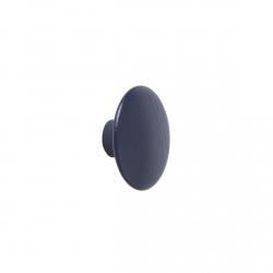 Muuto DOTS Wieszak Drewniany XS - 6.5 cm Granatowy Midnight Blue