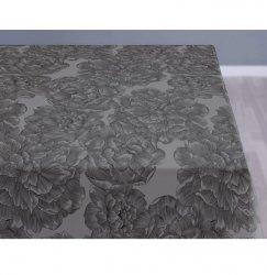 Sodahl MODERN ROSE Obrus na Stół 140x220 cm Szary