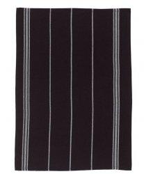 SÖDAHL - HERRINGBONE Ręcznik Kuchenny 50x70 cm Czarny