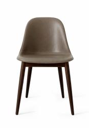 Menu HARBOUR SIDE Krzesło - Rama Dąb Ciemny - Siedzisko Skóra Naturalna Beżowa