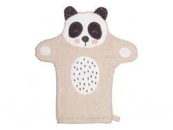SÖDAHL Penny Panda Rękawica - Myjka do Ciała dla Dzieci - Miś Panda
