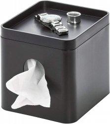 iDesign BOX Pojemnik na Chusteczki - Czarny Matowy