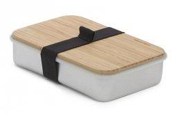 black+blum SANDWICH ON BOARD Pojemnik na Drugie Śniadanie, Kanapki - Srebrny