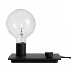 Muuto CONTROL Lampa Stołowa LED Czarna