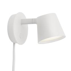 Muuto TIP Lampa Ścienna - Kinkiet - Biały