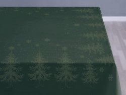 Sodahl CHRISTMAS WINTERLAND Obrus Świąteczny na Stół 150x220 cm Zielony