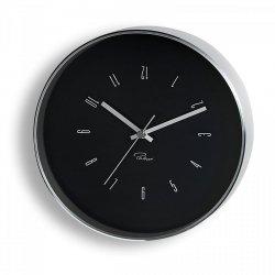 Philippi TEMPUS Zegar Ścienny 25 cm Czarny