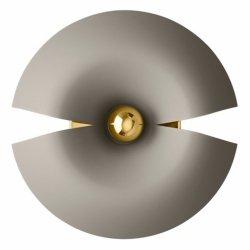 Aytm CYCNUS Kinkiet Ścienny 45 cm Taupe / Złoty