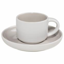 Maxwell Williams TINT Filiżanka do Kawy Espresso 100 ml Jasnoszara