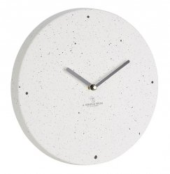 A Simple Mess FREM Zegar Ścienny z Dolomitu - Biały