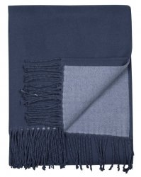 Sodahl THROW Bawełniany Pled - Koc 130x170 cm China Blue
