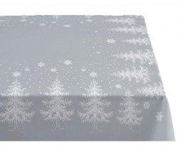 Sodahl CHRISTMAS WINTERLAND Obrus Świąteczny na Stół 150x270 cm Szary