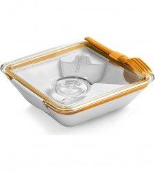 black+blum BOX APPETIT Pojemnik Lunch Box - Pomarańczowo/Biały