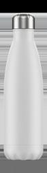 Chilly's MONOCHROME Stalowa Butelka Termiczna 500 ml Biała