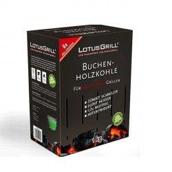 LotusGrill® Węgiel Drzewny do Grilla - Karton 1 kg