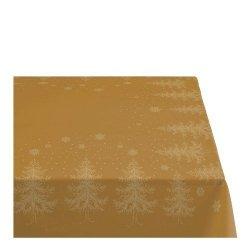 Sodahl CHRISTMAS WINTERLAND Obrus Świąteczny na Stół 150x220 cm Złoty