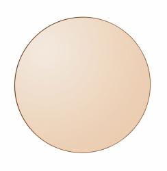 AYTM - CIRCUM Lustro Ścienne Okrągłe 70 cm Amber - Tafla Amber