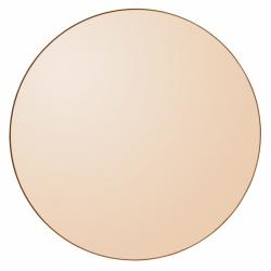 AYTM - CIRCUM Lustro Ścienne Okrągłe 110 cm Amber - Tafla Amber