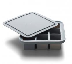 Bitz ICE Silikonowa Forma z Pokrywką do Kostek Lodu - 9 Kostek