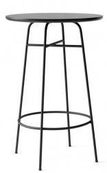 Menu AFTEROOM Stół Okrągły 68 cm, wysoki 102 cm - Czarny Laminat
