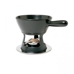Alessi MAMI Ceramiczny Zestaw do Fondue - Czarny