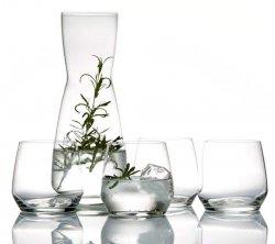 Bitz GLASS Karafka + 4 Szklanki do Wody 370 ml